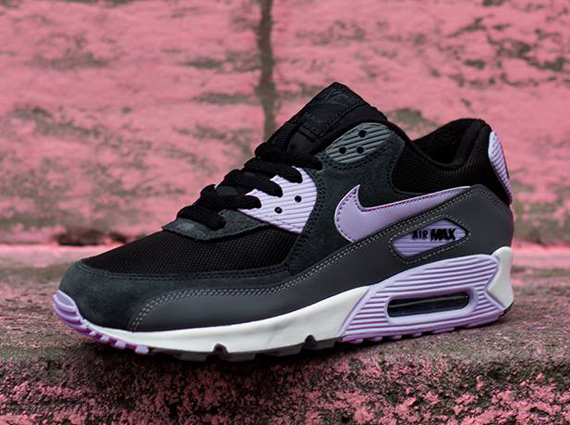 Nike WMNS Air Max 90 Essential Black Grey Violet Frost Available for Pre-Order