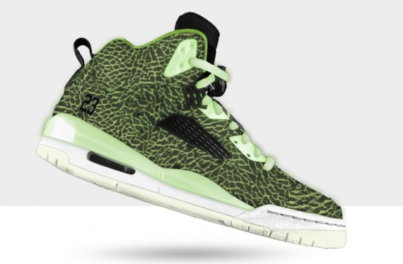 4f0a752425c Jordan Spizike Premium ID Yellow And Black Nike Womens Pants Shoes ...