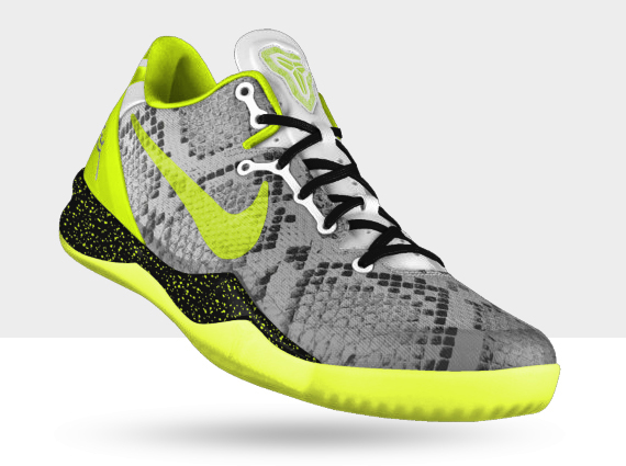 NIKEiD Kobe 8 Pit Viper Option Now Available