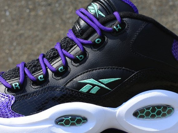 Reebok Question GS Black Purple Sea Now Available