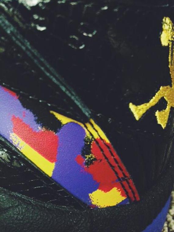 Reebok Shaqnosis Black Multi-color Teaser