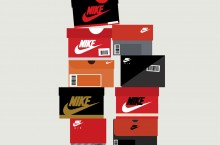 Sneaker Boxes by Stephen Cheetham