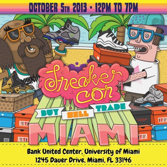 Sneaker Con Miami October 5 2013