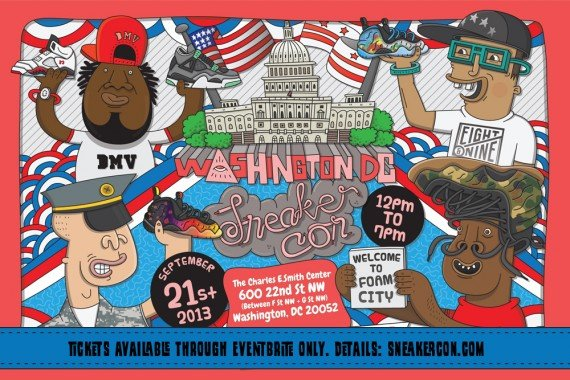 Sneaker Con Washington DC September 2013 Event Reminder