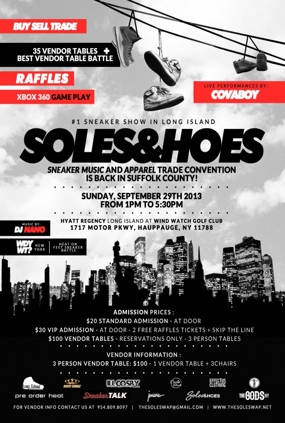 Soles&Hoes Sneaker Music and Apparel Convention by The Sole Swap