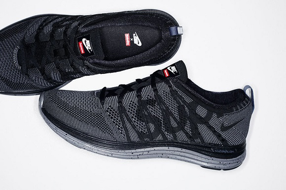 Supreme x Nike Flyknit Lunar 1+ First Look
