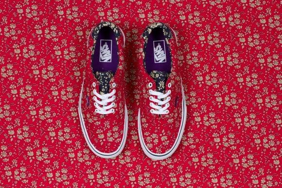 Vans x Liberty Art Fabrics for Holiday 2013