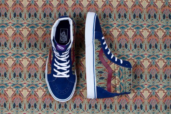 Vans x Liberty Art Fabrics for Holiday 2013