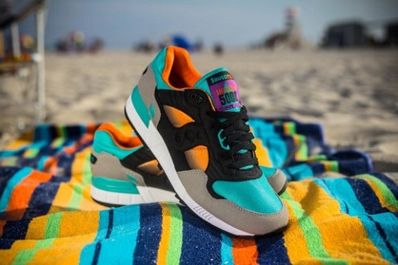 WEST NYC x Saucony Shadow 5000 Tequilla Sunrise Release Reminder