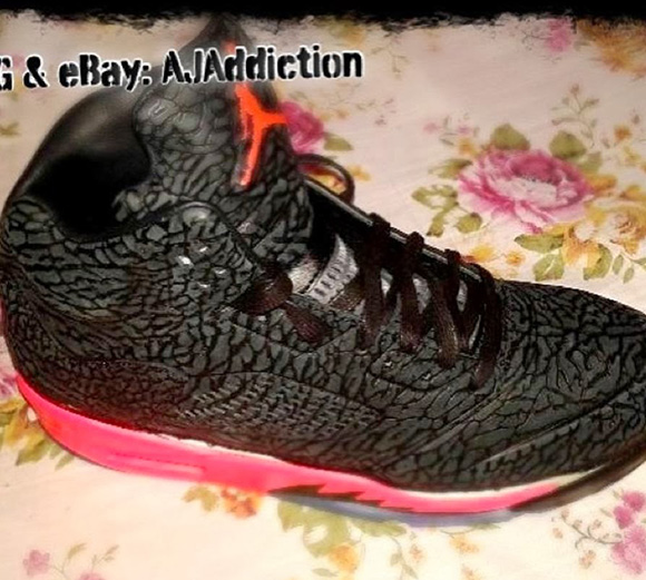 sports shoes a7b91 e587c Air Jordan V 5 3Lab5 Red First Look lovely