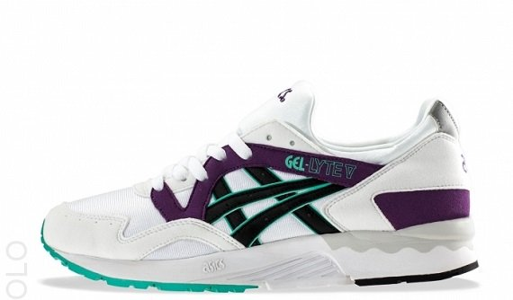 "Asics Gel-Lyte V ""White grape"" – First Look"