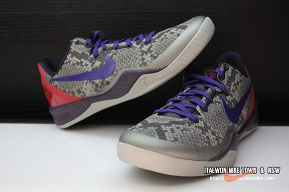 Kobe 8 Mine Grey