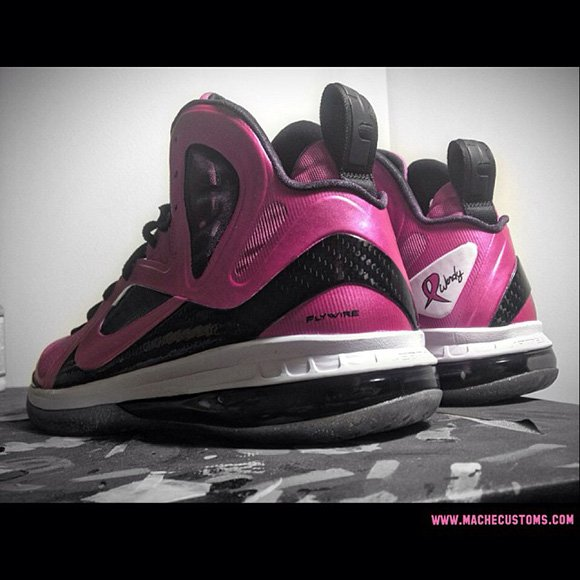 LeBron 9 Breast Cancer Awareness