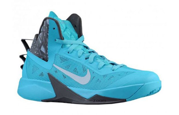 sale retailer 62568 f4613 Nike Zoom Hyperfuse 2013 Blue Grey Now Available high-quality
