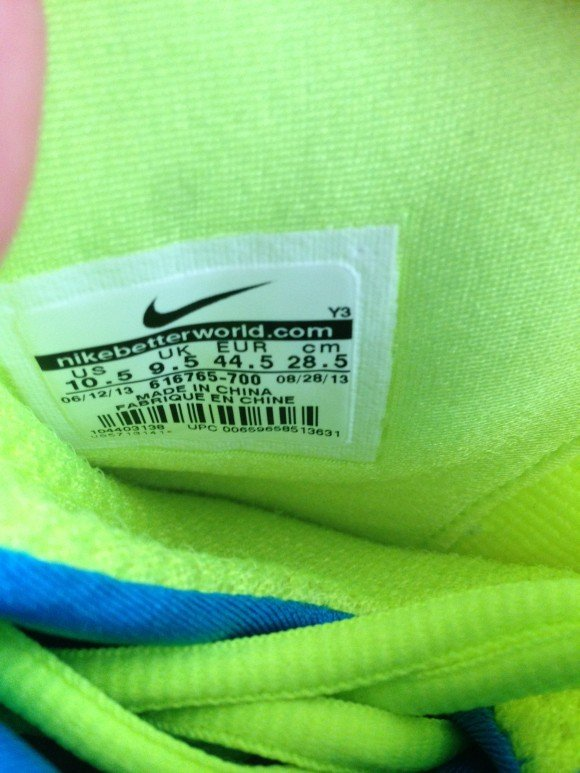 Nike Flightposite Neon Green Blue Grey Another Look
