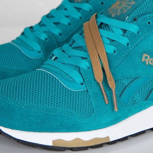 Reebok GL 6000 Teal Gem White Now Available