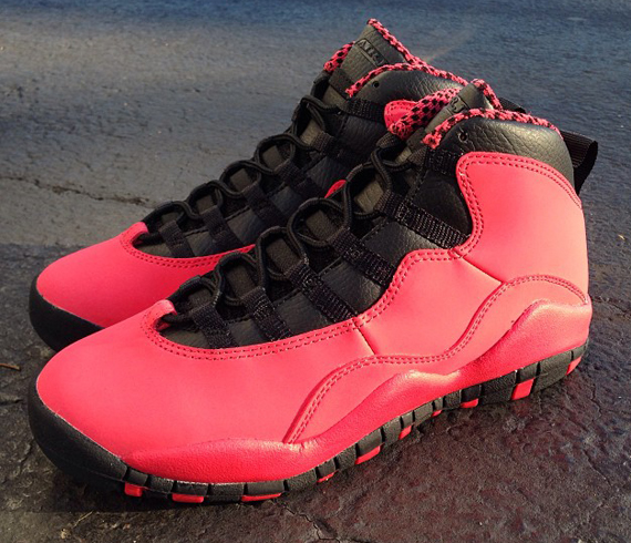 Air Jordan 10 GS Fusion Red Another Look