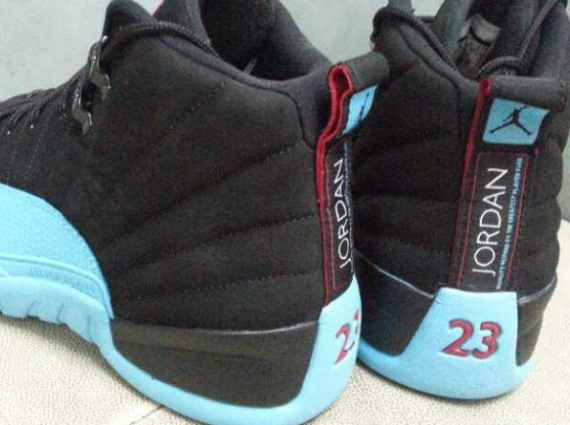 Air Jordan 12 GS Black Gamma Blue Another Look