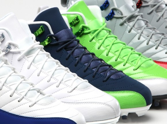 Jordan Brand Unveils Air Jordan 12 PE Cleats for 2013 Season