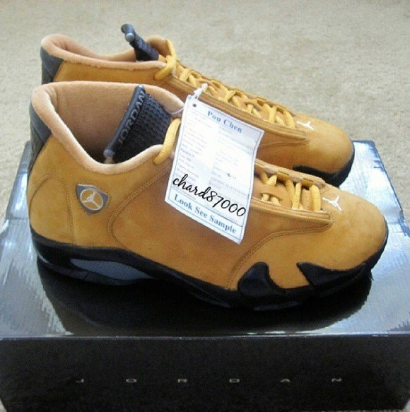 Air Jordan 14 Wheat Look See Sample