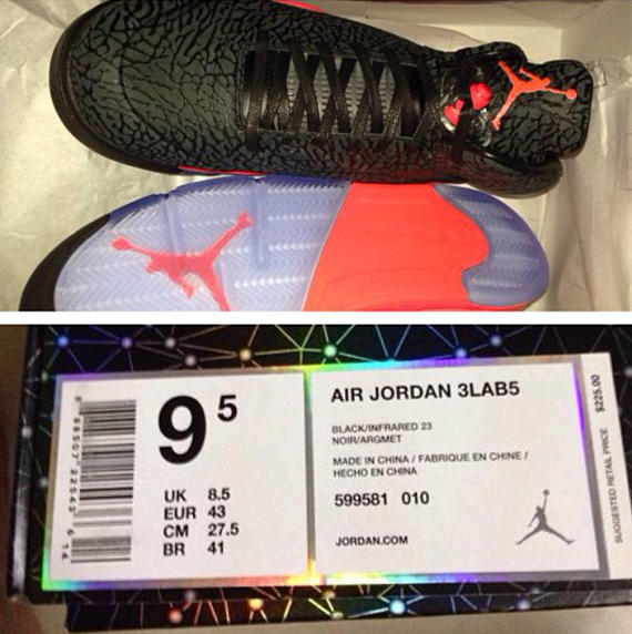 Air Jordan 3Lab5 Black Infrared 23 Yet Another Look