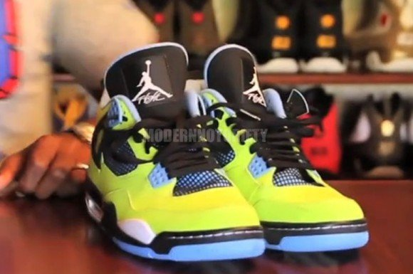 Air Jordan 4 Retro Volt First Look