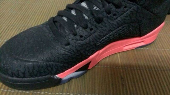 Air Jordan 5 3lab5 Black Red Another Look