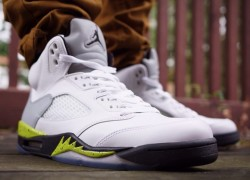 "Air Jordan V ""Command Force"" by Ramses Customs"