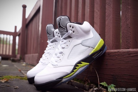 Air Jordan V Command Force by Ramses Customs
