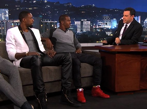 Chris Paul in Air Jordan 1 LOTS for Jimmy Kimmel Live