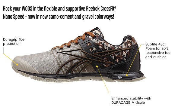 Custom Reebok CrossFit Nano Speeds Now Available