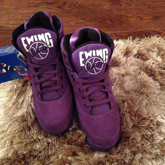 Ewing 33 Hi Purple Suede First Look