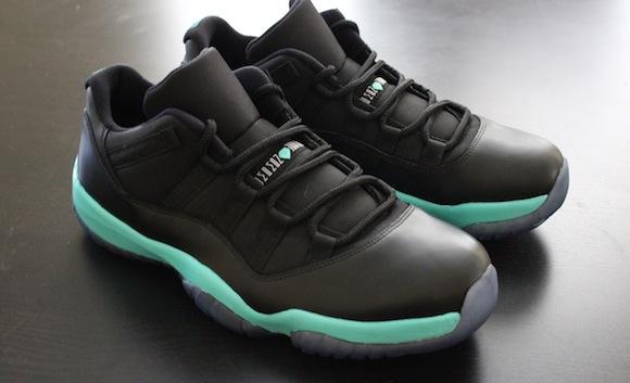 Air Jordan Black Tiffany XIs by Eddie Garcia