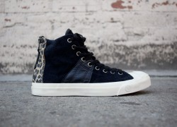 INVINCIBLE x Converse First String Jack Purcell Johnny 'Black/Leopard'
