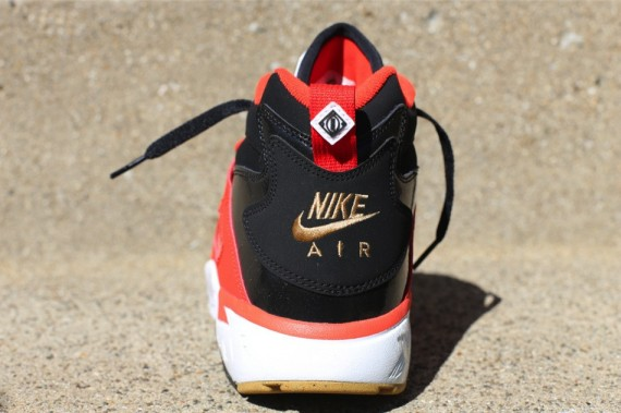 Nike Air Diamond Turf Black Orange Gold Now Available