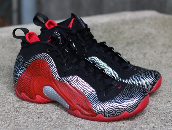 Nike Air Flightposite Exposed Zebra Another Detailed Look