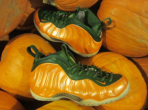 Nike Air Foamposite One Great Pumpkin Customs by FETTi D'Biasi