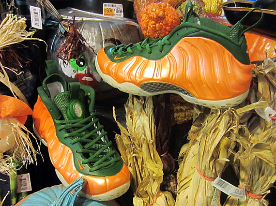"Nike air foamposite one ""great pumpkin customs by fetti d"