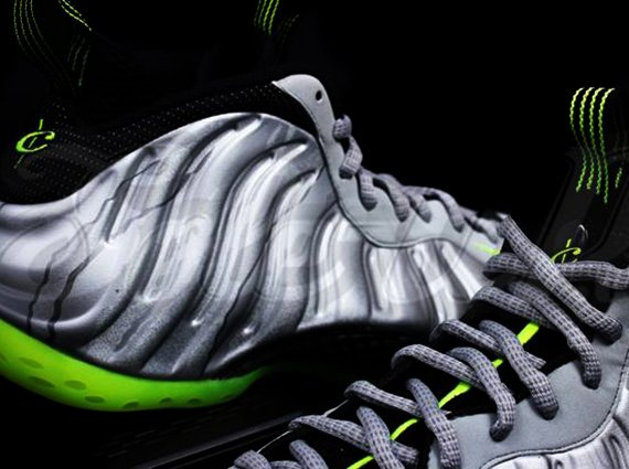 Nike Foamposite One Grey Volt Camo Yet Another Detailed Look