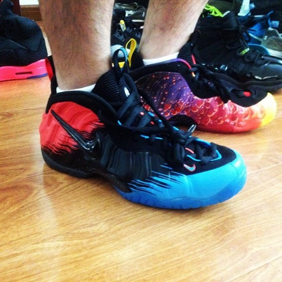 Nike Air Foamposite Pro SpiderMan Another Look
