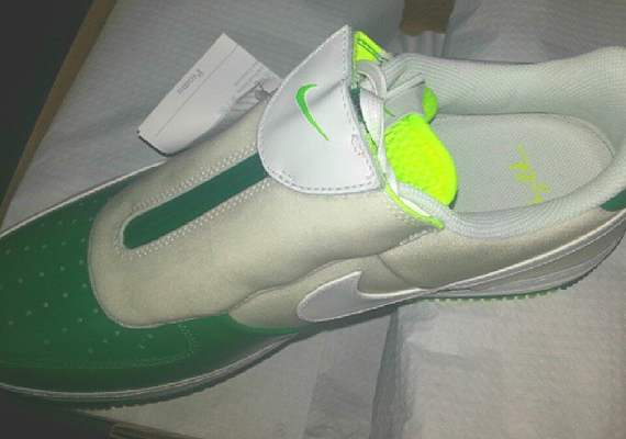 Nike Air Force 1 Low The Glove White Volt Green First Look