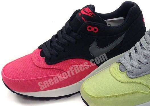 online retailer 0ea68 8dda1 Nike Air Max 1 Canvas Pack Spring 2014