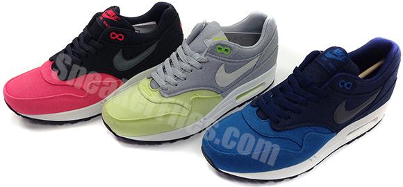 Nike Air Max 1 Canvas Pack Spring 2014