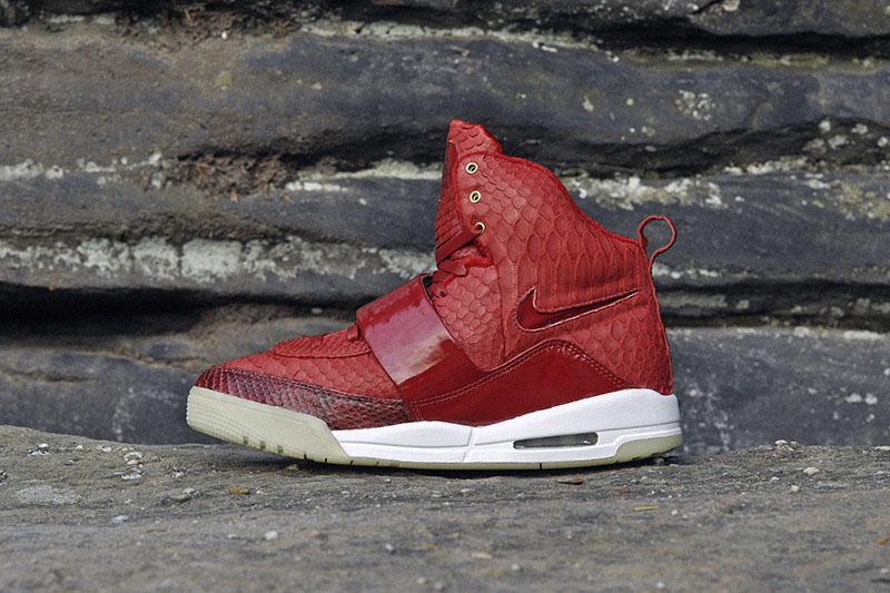 Nike Air Yeezy  Red October  Custom  f6daea5ff