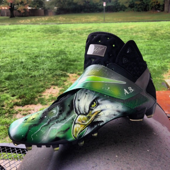 Nike CJ Cleats BirdGang Customs by DEZ Customz