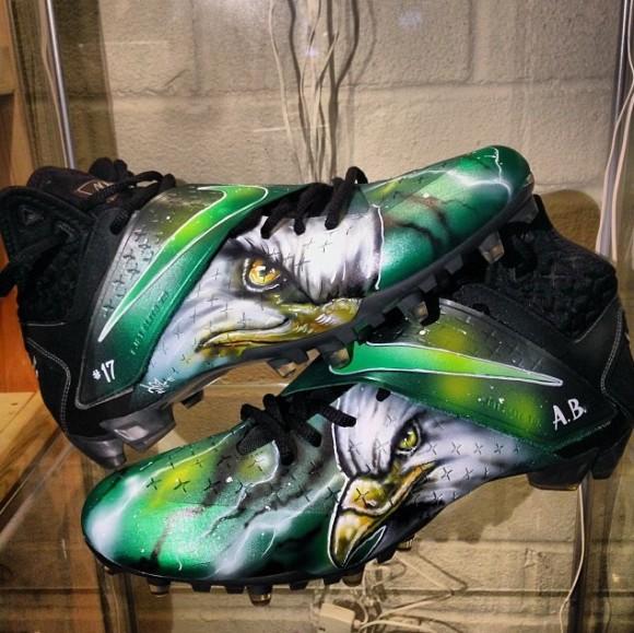e39177f859d517 ... Nike CJ Cleats BirdGang Customs by DEZ Customz spiderman foamposites ...