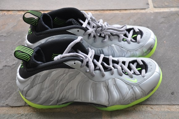 Nike Foamposite One Grey Volt Camo  Yet Another Look