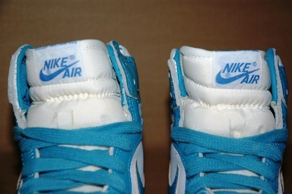 Nike Jordan 1 UNC Blue Sample Available on eBay