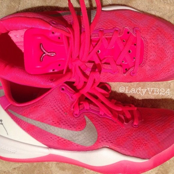 Nike Kobe 8 Think Pink Sneak Peek