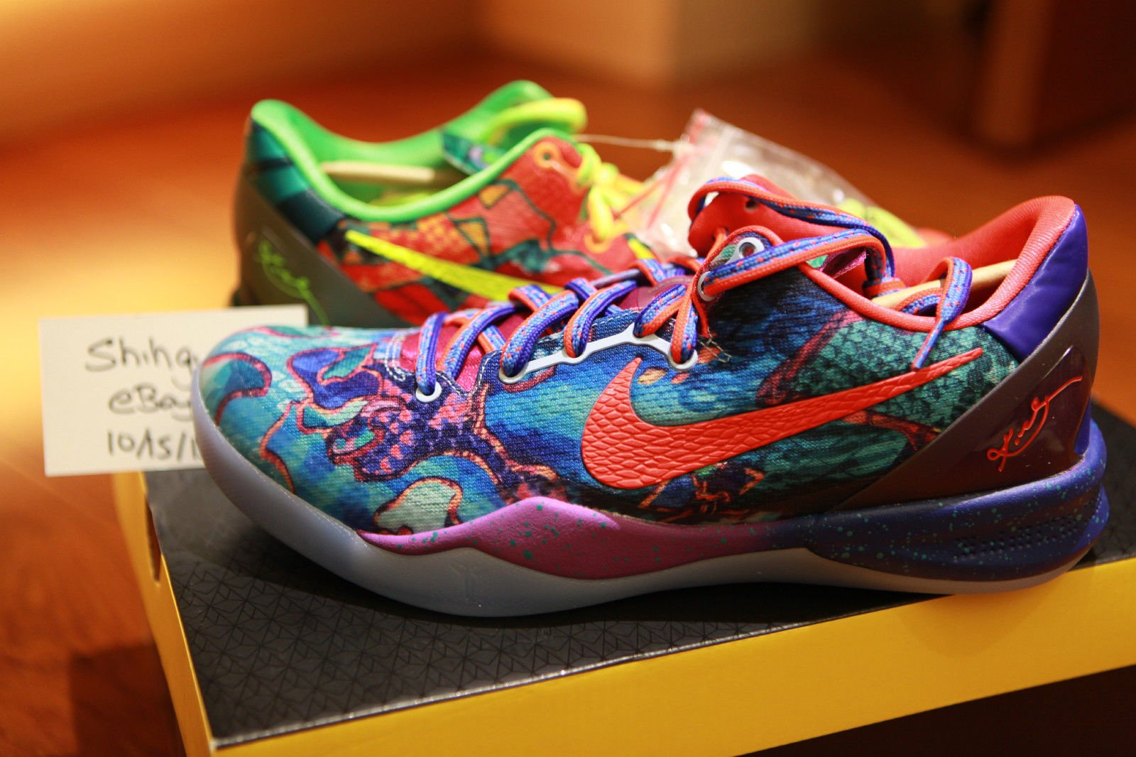 Nike Zoom Kobe VIII 8 Schwarz